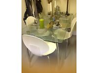 Habitat Dining Table and 5 Chairs
