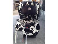 Britax cow kids car seat