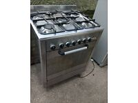 Stainless steel gas cooker 70cm....free delivery