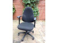 High backed office chair
