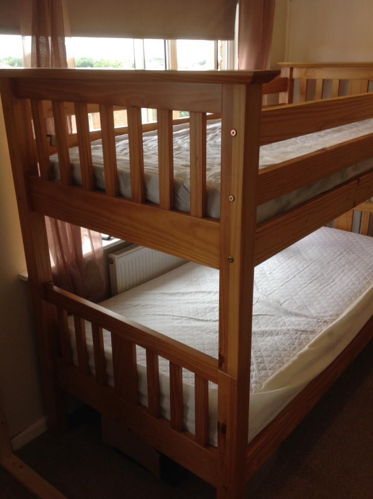 Solid Pine Quality Wooden Bunk Beds In Kessingland Suffolk Gumtree