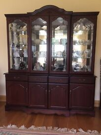 Display Cabinet Mahogany