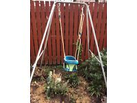 TP Swing frame and baby seat