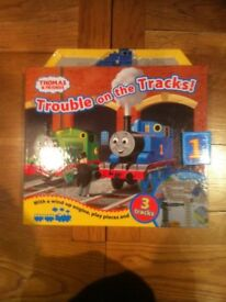 Trouble on the Tracks - Thomas & Friends Play Book