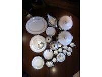 WEDGWOOD AMHERST BONE CHINA DINNER SET 54 PIECES £599