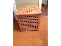 Spacious Wooden Storage Box