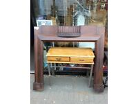 ***REDUCED*** fire surround solid wood