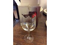 Darlington wine glasses for red, white or rose