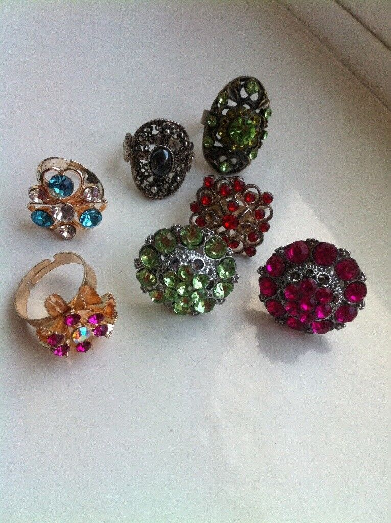 Ladies ring collection