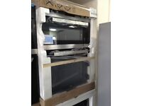 Stainless steel double electric oven new in package 12 mths gtee