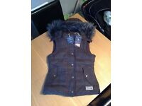Women's Jack Wills tweed gilet. Brand new with tags