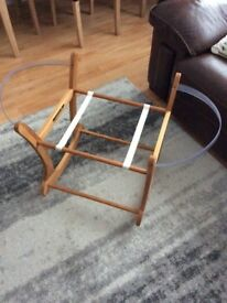 Mothercare Moses Basket and Rocker Stand