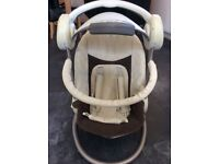 Baby's mammas and pappas musical swing/ chair £15 ..................................................