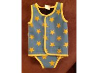 Baby neoprene swim wrap/vest (small 6-12 months)