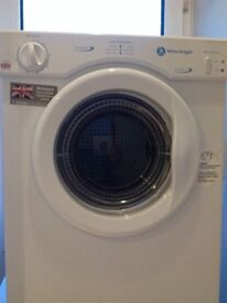 Tumble Dryer 3 kg load White Knight vented