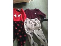 2 thick pajamas for boys