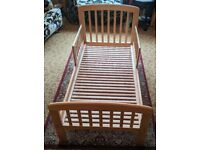 Toddler Bed - John Lewis 'Anna', very good condition