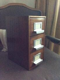 Small Wood Drawers