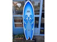 TakeOff 6ft Reto Fish Surfboard.