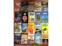20 Classic Science Fiction paperbacks.