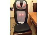 Homedics massage cushion with heat option
