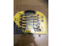 Stanley 40x screwdrivers