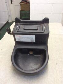Unused stable water feeder