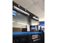 Single electric oven new graded 12 mth gtee £159