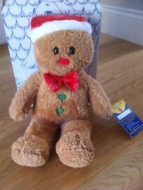Brand New. Gingerbread Man from Build a bear .
