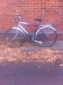 Mens Raleigh road bike