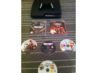 PS3 with controller and games!