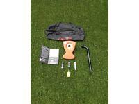 Alko secure lock No26, caravan wheel clamp kit complete.