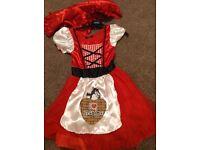Girls little Red Riding Hood dress