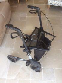 4 wheel folding walker