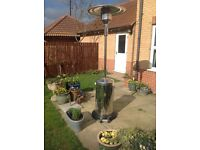 Stainless steel calor gas patio heater