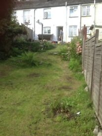 3 bedroom terraced cottage, garden, beautiful views over valley, gch,unfurnished,from mid May.