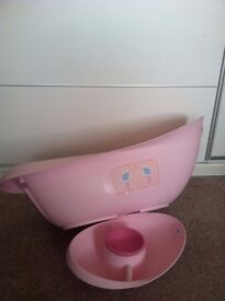 Baby bath,top and tail bowl,bath set