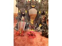 Tower of Doom wooden castle plus 19 figures early learning centre