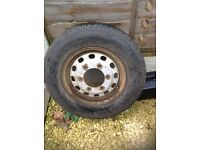 "15"" Ford Transit wheel with good tyre"