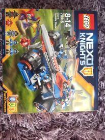 LEGO NEXO KNIGHTS CLAYS RUMBLE BLADE