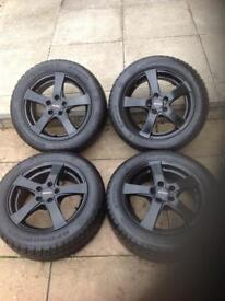 Audi A1 winter wheels and tyres