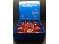 Boxed set 6 Brandy Glasses