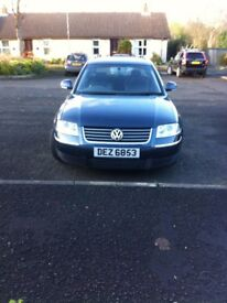 VW Passat Estate 2.8 V6 30v Four Wheel Drive,Alloys, Half Leather, Metallic Blue