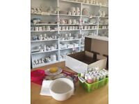 Pottery Painting Takeaway Kits - Delivery Available