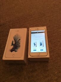 Apple iPhone 6s Plus silver (vodafone) (as new)