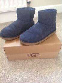 Ladies blue size 6.5 ugg boots