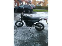 Apache sinnis 125cc excellent bike