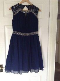 Little Mitress Navy Dress