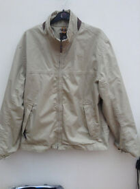 Mens Timberland Waterproof Jacket Beige Size XL