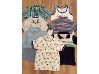 Large bundle of boy clothes age 3-4 year old x7 items in excellent condition.